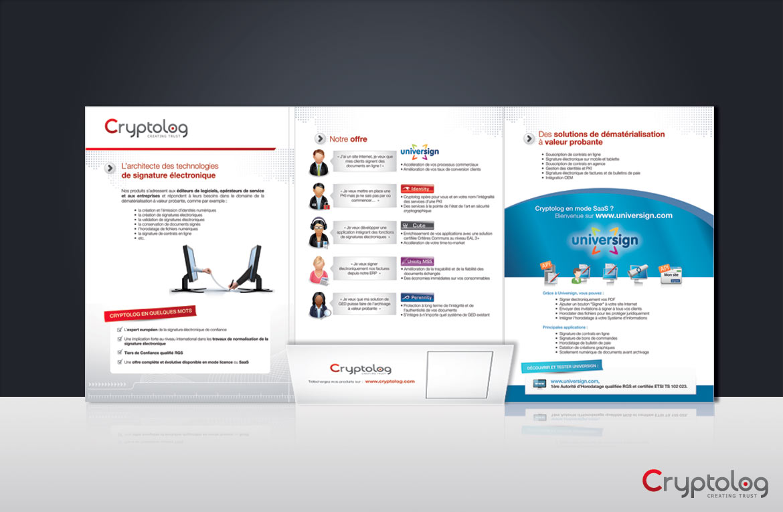 Création graphique pages intérieures de la plaquette de communication