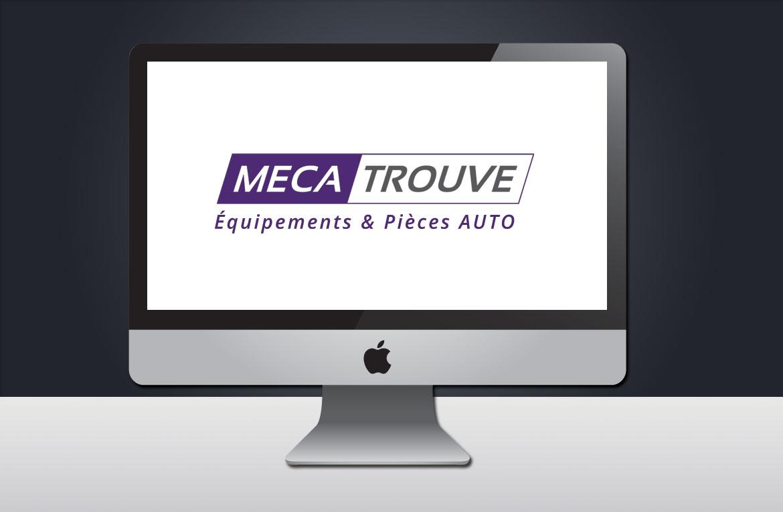 Design et conception du logo de l'entreprise mecatrouve