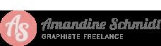 logo graphiste freelance Amandine Schmidt