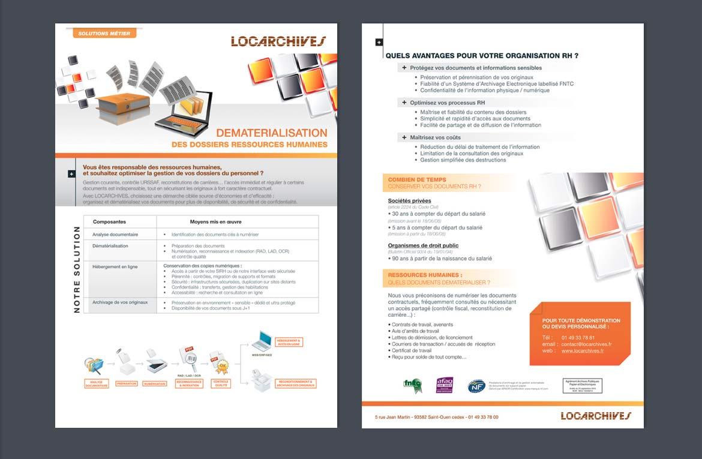 Support print archive papier Locarchives