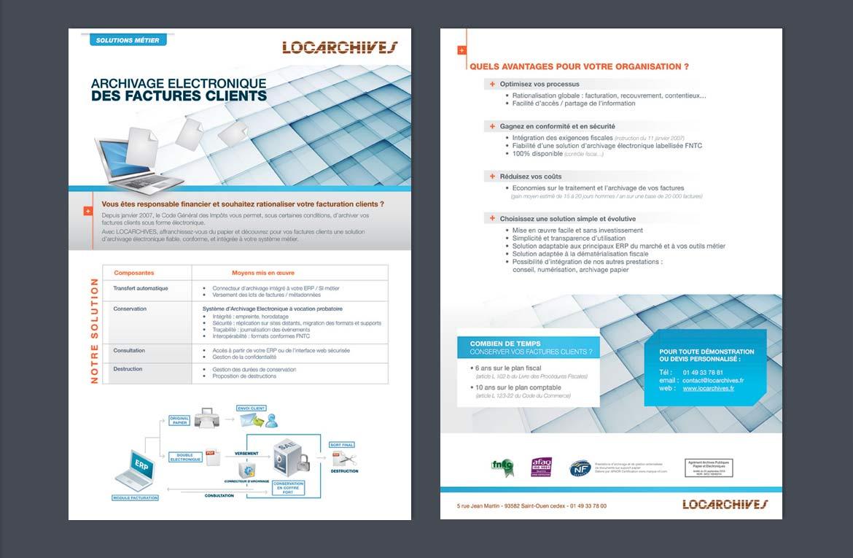 Support print archive électronique Locarchives