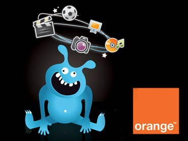 Vignette plaquette de communication Orange