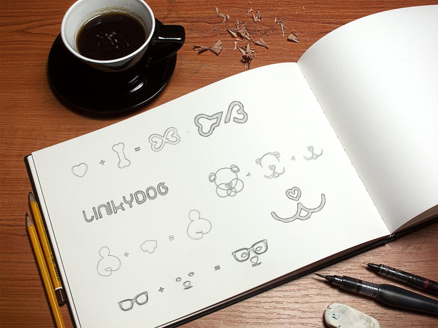 croquis, esquisse, sketch logo