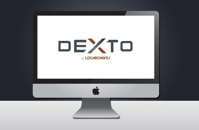Rendu finalisé pour la création du logotype du nouvel espace client Locarchives