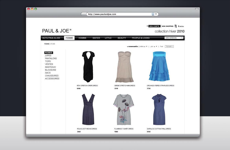 Exemple de mise en page pour présenter des articles du site.